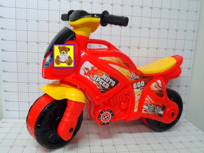 ZABAWKA MOTOCYKL TECHNOK CZERWONY       4823037605118