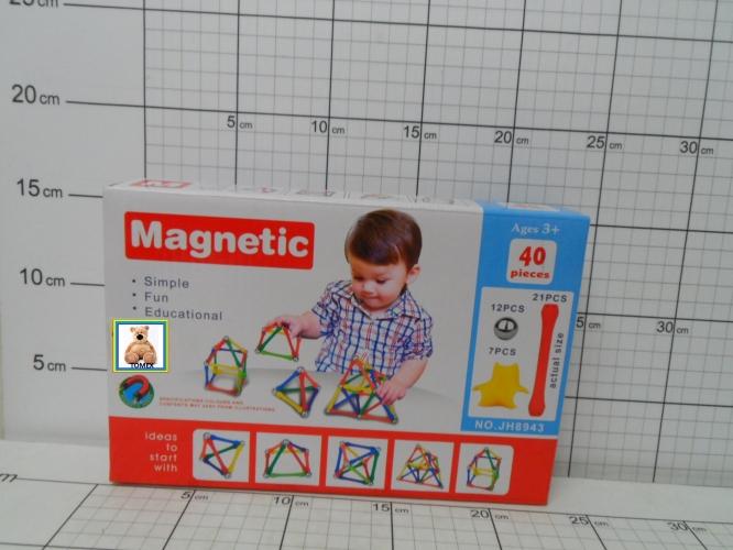 KLOCKI MAGNETYCZNE 40EL.5902719752995