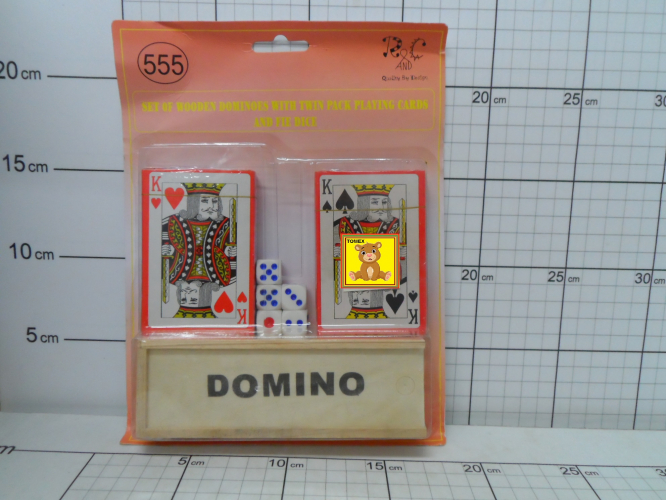 KARTY DO GRY + DOMINO 5900949435145