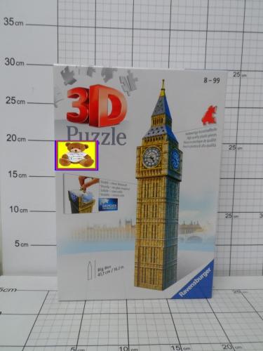PUZZLE 3D BIG BEN KK4005556125548