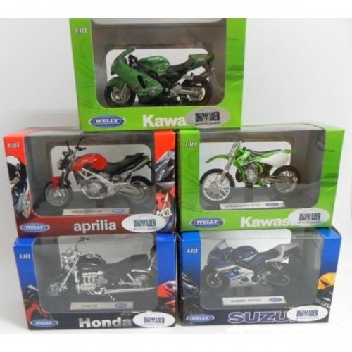 WELLY-MOTORY-MODELE W SKALI 1.18        KK4891761196639