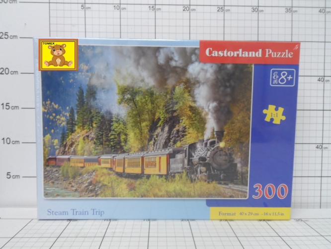CAS.PUZZLE 300 STEAM TRAIN TRIP         KK5904438030446