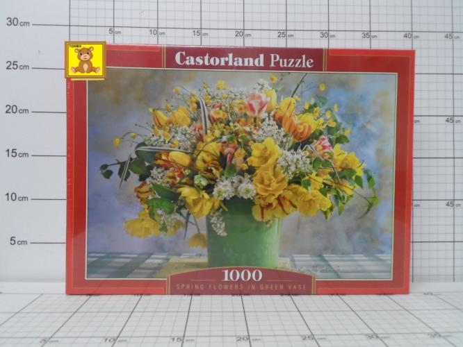 CAS.PUZZLE 1000EL.C-104567-2 SPRING     FLOWERS IN GREEN VASE 5904438104567