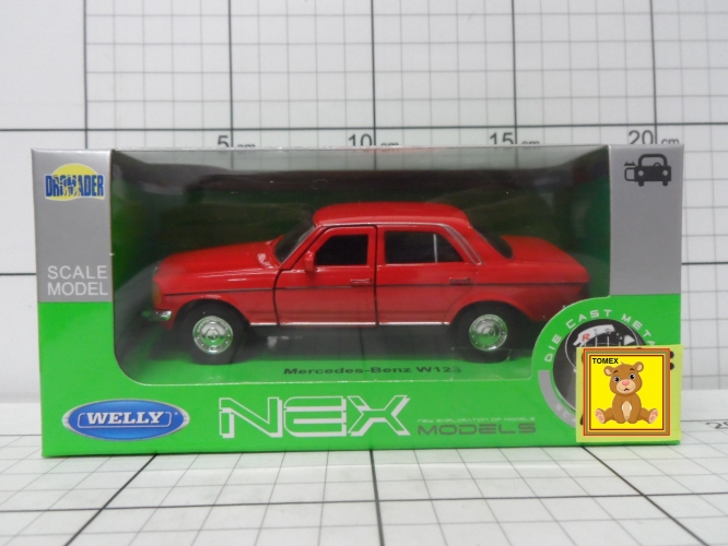 WELLY-MODELE MERCEDES W123              5900360008805,5900360008843