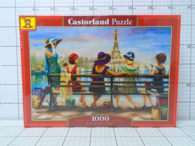 CAS.PUZZLE 1000EL.GIRLS DAY OUT         5904438104468