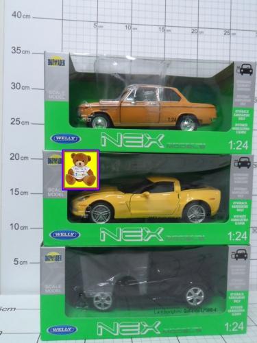 WELLY AUTOKOLEK.MODELE MIX 1.24         KK5900360008836