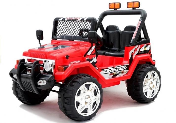 AUTO NA AKUMULATOR S618 EVA CZERWONY    2551 CARS 5902808153580